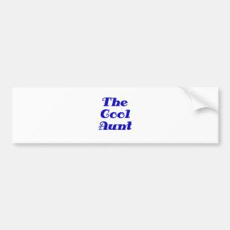The Cool Aunt Bumper Sticker