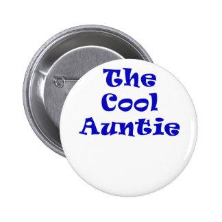 The Cool Auntie 6 Cm Round Badge
