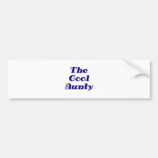 The Cool Aunty Bumper Sticker
