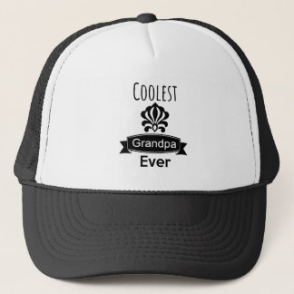 The Coolest Grandpa Ever Trucker Hat