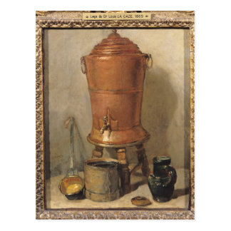 The Copper Drinking Fountain, c.1733-34 Postcard
