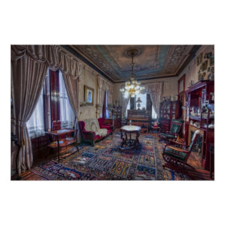 The Copper King's Music Room - Butte Montana Print