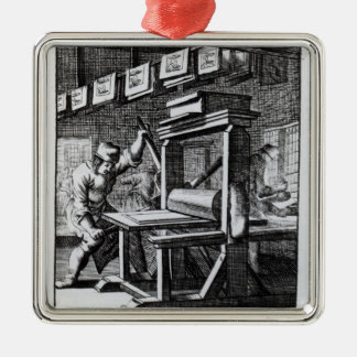 The Copper-plate Engraver, from 'Iets voor Christmas Ornament