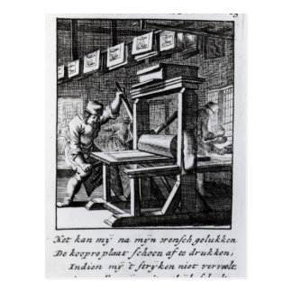 The Copper-plate Engraver, from 'Iets voor Postcard
