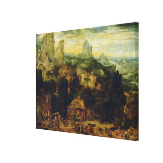 The Coppermine oil on panel Gallery Wrap Canvas