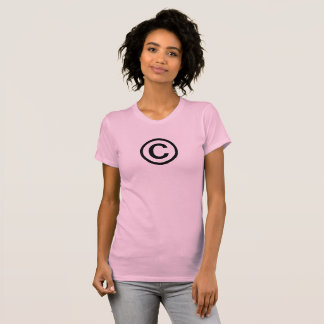 The Copyright Symbol Women's T-Shirt