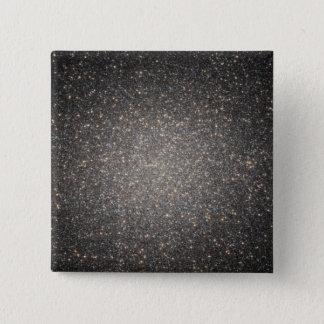 The core of the globular cluster Omega Centauri 15 Cm Square Badge