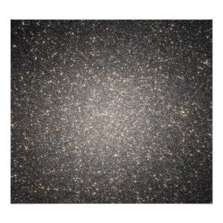 The core of the globular cluster Omega Centauri Photo Art