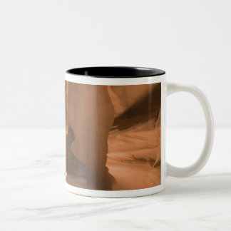 The Corkscrew in Upper Antelope Canyon, Navajo 2 Two-Tone Coffee Mug