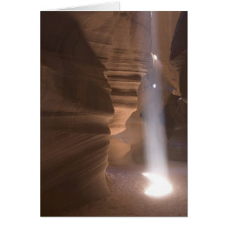 The Corkscrew in Upper Antelope Canyon, Navajo Card