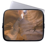 The Corkscrew in Upper Antelope Canyon, Navajo Laptop Computer Sleeves