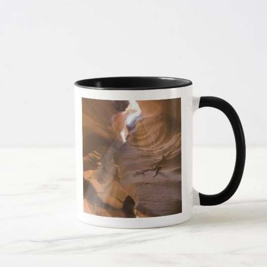 The Corkscrew in Upper Antelope Canyon, Navajo Mug