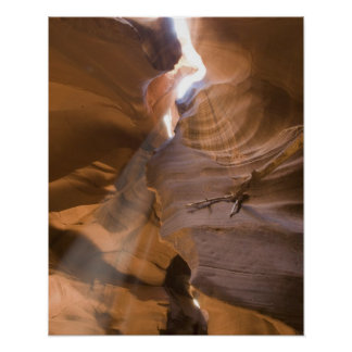 The Corkscrew in Upper Antelope Canyon, Navajo Poster
