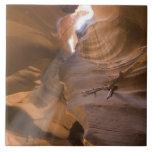 The Corkscrew in Upper Antelope Canyon, Navajo Ceramic Tile