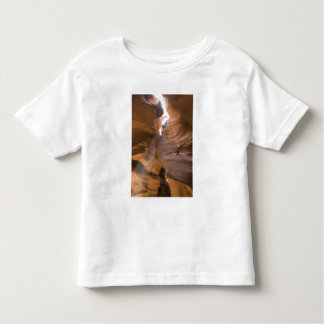 The Corkscrew in Upper Antelope Canyon, Navajo Toddler T-Shirt