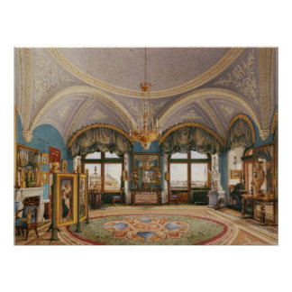 The Corner Drawing-Room of Emperor Nicholas I Poster