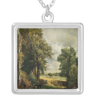The Cornfield, 1826 Silver Plated Necklace