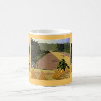 The Cornfield by John Nash Basic White Mug