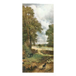 The Cornfield, The Cornfield By John Constable (Be Rack Card Template