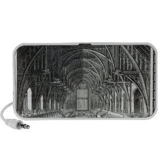 The Coronation Banquet in Westminster Hall Laptop Speakers