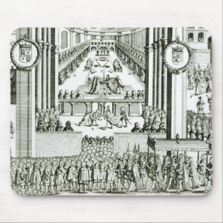 The Coronation of Charles I Mouse Pad