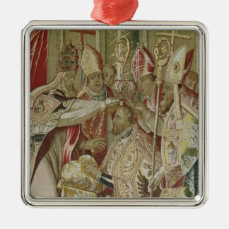 The Coronation of Charles V Christmas Ornament
