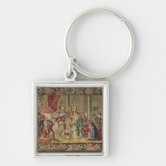 The Coronation of Charles V Key Ring