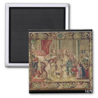 The Coronation of Charles V Magnet