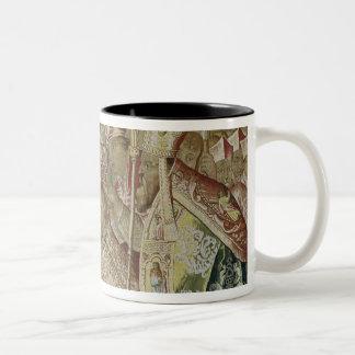 The Coronation of Charles V Two-Tone Coffee Mug