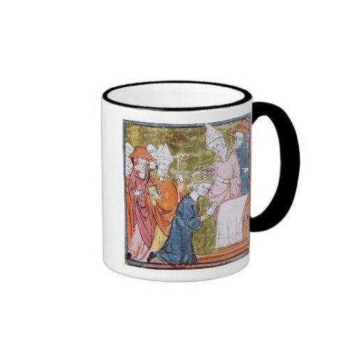 The Coronation of Emperor Charlemagne Ringer Mug