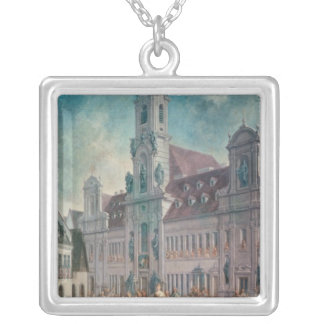 The Coronation of Empress Silver Plated Necklace