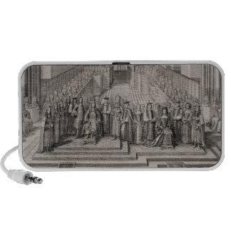 The Coronation of King James II (1633-1701) and hi Mini Speaker