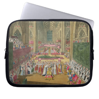 The Coronation of King James II (1633-1701) from a Laptop Computer Sleeves
