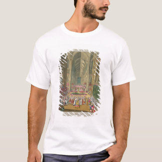The Coronation of King James II (1633-1701) from a T-Shirt