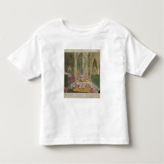 The Coronation of King James II (1633-1701) from a Toddler T-Shirt