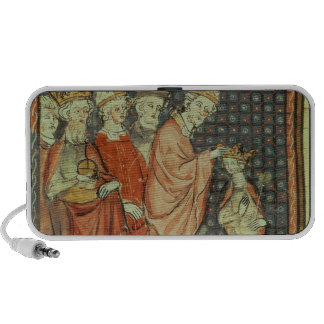 The coronation of Louis I 'the Pious' Notebook Speaker