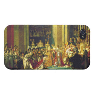 The Coronation of Napoleon by Jacques Louis David iPhone 4 Covers