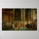 The Coronation of Napoleon Poster
