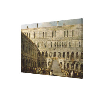 The Coronation of the Doge of Venice Canvas Print