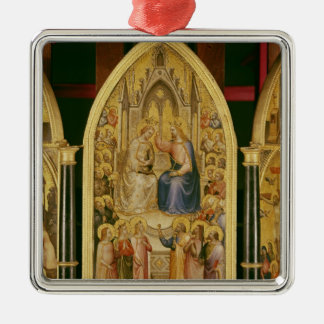 The Coronation of the Virgin, and Other Scenes Christmas Ornament