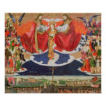 The Coronation of the Virgin, completed 1454 2 Poster