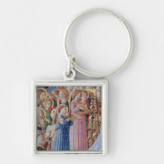 The Coronation of the virgin Key Ring