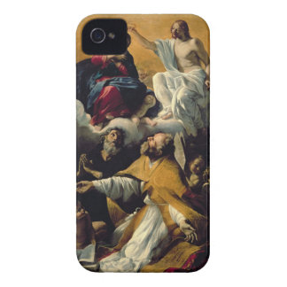 The Coronation of the Virgin with SS. William of A iPhone 4 Cover