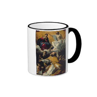 The Coronation of the Virgin with SS. William of A Coffee Mugs