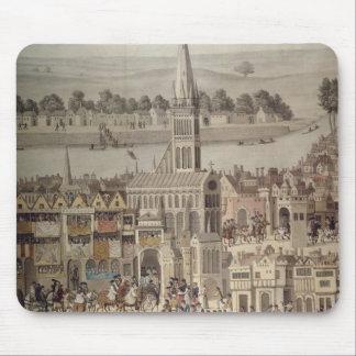 The Coronation Procession of King Edward VI Mouse Mat