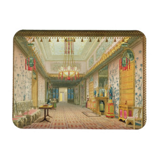 The Corridor or Long Gallery in its Final Phase, f Rectangular Photo Magnet