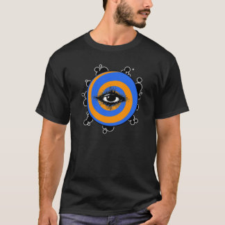 The Cosmic Eye in Black T-Shirt