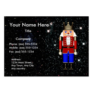 THE COSMIC NUTCRACKER (toy dealer / holiday) ~ Pack Of Chubby Business Cards