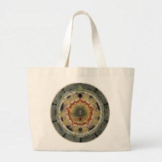 The Cosmic Rose Jumbo Tote Bag