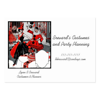 The Costume Party Business Card